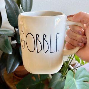 Rae Dunn Gobble Thanksgiving Mug